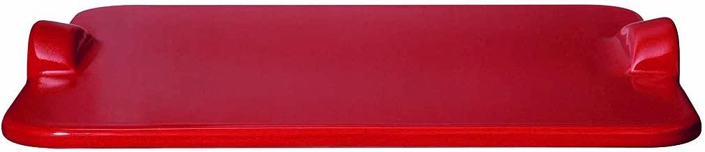 Emile Henry 347618 Rectangular Pizza Grill/Oven Stone, 19.6
