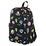 Rick & Morty Cartoon Characters Space All Over Print Tech Backpack