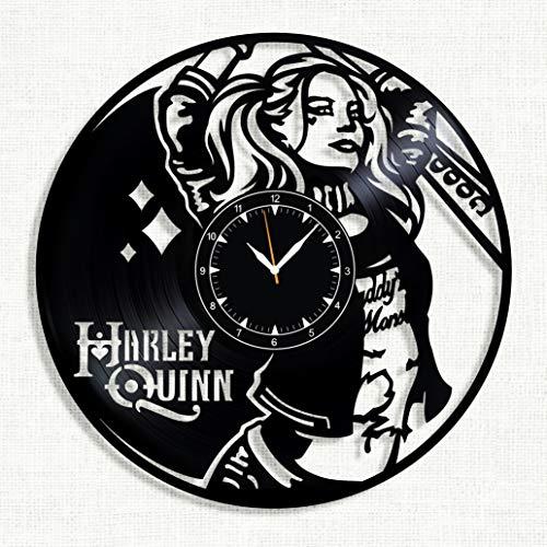 51K8bohULZL Harley Quinn Clocks
