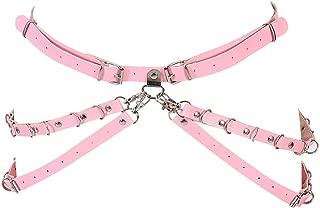 BBOHSS Damen Body Harness BH, elastisch, ohne Ärmel