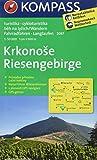 Riesengebirge / Krkonose: Wanderkarte mit Naturführer tschechisch /deutsch, Radrouten und Loipen. GPS-genau. 1:50000 (KOMPASS-Wanderkarten, Band 2087): Wandelkaart 1:50 000