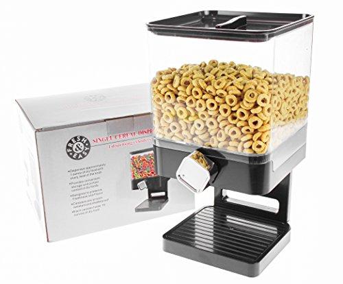 United Entertainment - Dispensador de Cereales (dispensador de Cereales, dispensador de Cereales, dispensador Individual, dispensador Doble, dispensador Triple para Cereales, Cereales y Cereales)
