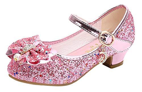 DEMU feestelijke kinderen meisjes ballerina's schoenen voor feestjes en vrije tijd glitter ballerina's
