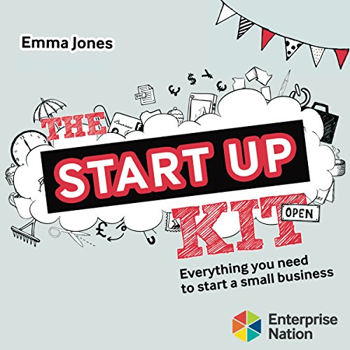 The Start-up Kit audiobook cover art