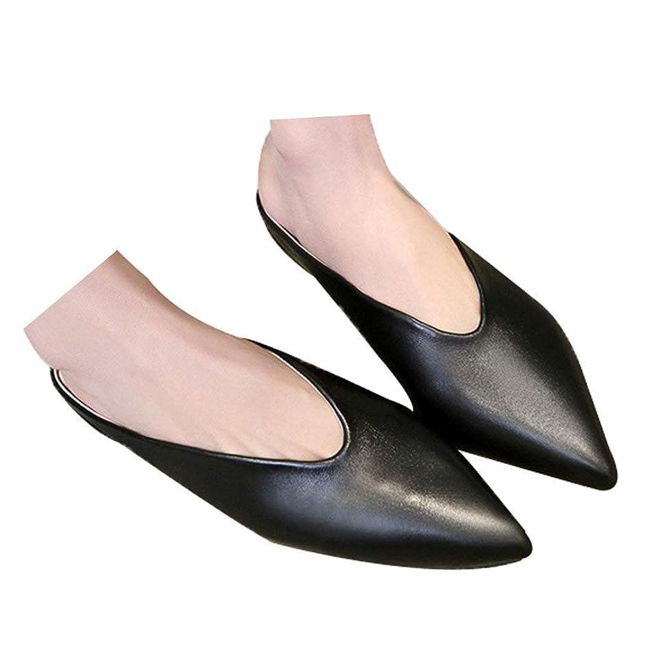Veodhekai Womens Flats Shoes Slip On Pointed Toe Flip Flops Slippers Sandals Elegnat Wedding Single Shoes
