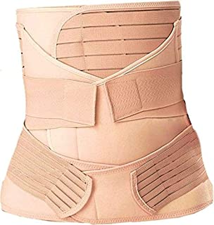 3 in 1 Postpartum Support Recovery Belly Wrap Waist/Pelvis Belt