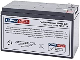 12V 7Ah Sealed Lead Acid (SLA) Replacement Battery for Campbell Hausfeld CC2300 Inflator and Power Supply