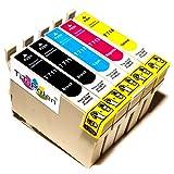 5x Kompatible Druckerpatronen - Ersatz für T0896 - Cyan / Gelb / Magenta / Schwarz- PATRONEN MIT NEUESTEN CHIP - Epson Stylus B40W BX300f BX310FN BX600FW BX610FW D120 Network D78 D92 DX400 DX4000 DX4050 DX4400 DX4450 DX5000 DX5050 DX6000 DX6050 DX6050EN DX7000 DX7000F DX7400 DX7450 DX8000 DX8400 DX8450 DX9400F Wifi Office SX600FW S20 S21 SX100 SX105 SX110 SX115 SX200 SX205 SX210 SX215 SX400 SX405 SX410 SX415 SX510W SX515W SX610FW