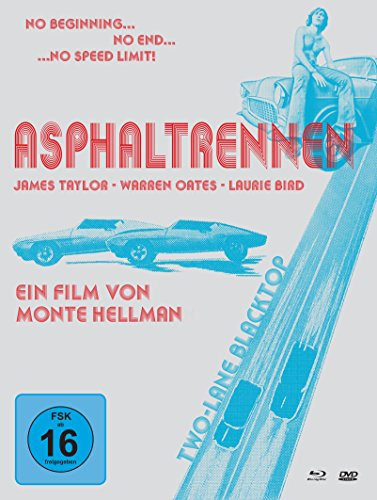 Asphaltrennen - Two-Lane Blacktop - Mediabook (+ DVDs) (+ Bonus-DVD) [Blu-ray]