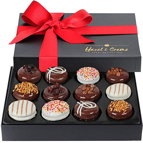 Hazel & Creme Cookies Gift Box - Gourmet Cookies - Food Gift - Anniversary, Birthday, Gifts for Men, Women
