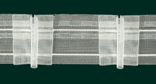 Ruther & Einenkel Faltenband mit 3 Falten, 50 mm, volltransparent, 200% / Aufmachung 10 m