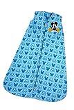 Disney Mickey Wearable Blanket, Blue, Medium