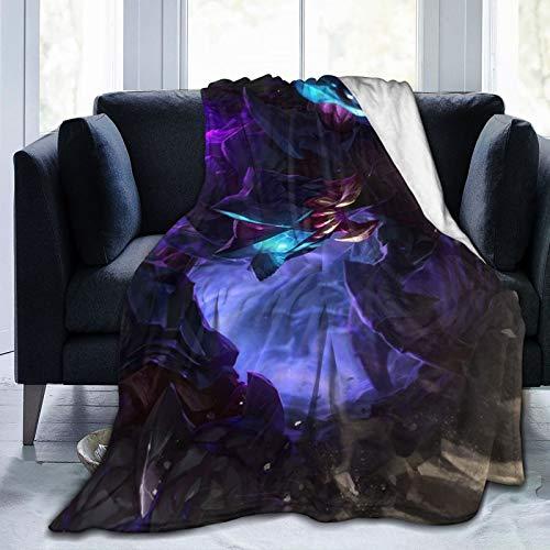 Preisvergleich Produktbild Rek'sai The Void Burrower Ixtal Baron Nahsor ult, Cya MOBA Spiel-Dekoration,  Decken,  super weich,  Reisegröße für Sofa,  Mikrofaser,  152, 4 x 127 cm