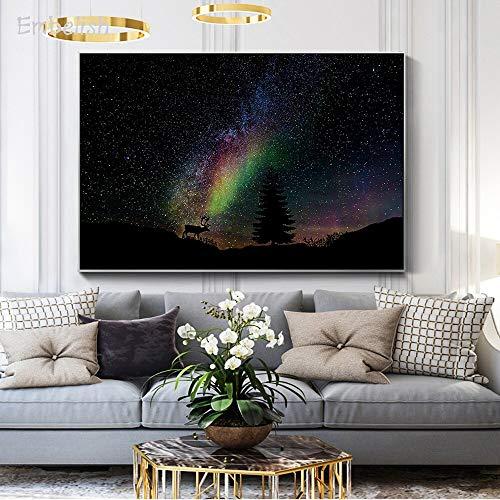 KWzEQ Imprimir en Lienzo Gypsophila Pared Imagen decoración del hogar para Dormitorio Sala de Estar carteles75x113cmPintura sin Marco