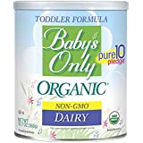 Baby's Only Organic Dairy Toddler Formula, 12.7 Oz (Pack of 6) | Non GMO | USDA Organic | Clean Label Project Verified