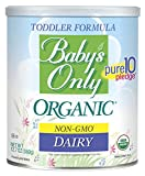 Baby's Only Dairy Toddler Formula - Non GMO, USDA Organic, Clean Label...