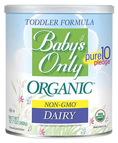 Baby's Only Dairy Toddler Formula - Non GMO, USDA Organic, Clean Label Project Verified, 12.7 Ounce (Pack of 1)