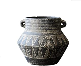 Garden Flower Pots National Style Retro Flower Pot Art Ancient Embossed Decorative Flower Utensils Ornaments 4 Kinds of Style Flower Pots to Choose from Pots, Planters & Container Accessories