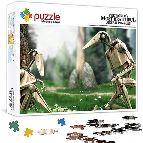 Puzzle 1000 Piezas para Adultos Soldado de Asalto de Star Wars Clone Corps NiñOs Educativo Madera 75x50 CM Arte CláSicos Juego De Rompecabezas Adolescentes Infantil Toda La Familiar Regalos