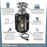 Photo #5: Moen Garbage Disposal Host Series - 3/4 HP Garbage Disposal with Sound Reduction (Moen GXB75C)