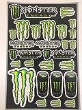 Tabla de Pegatinas Monster Energy Racing
