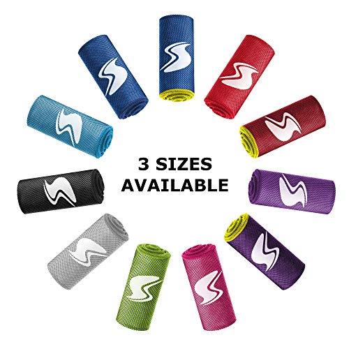 SportsTrail Cooling Towel 50''x20'' (Large, Dark Blue/NEO)