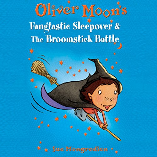 Oliver Moon audiobook cover art