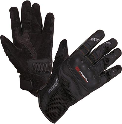 Modeka Sonora Handschuhe Schwarz/Rot 10