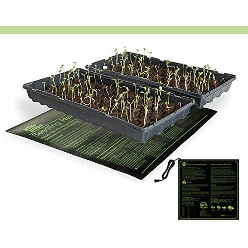 Alfombra de calor de plántulas, 10'x20' Semillas de semillas Cálido, almohadilla de la almohadilla PVC Matsupple, tapetato de la estera de semillas
