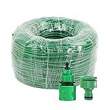 WYYUE Tubo De Manguera PVC, Manguera Jardin Comodidad Pipa De Plástico para Irrigación, Lavado De Autos, Jardinería