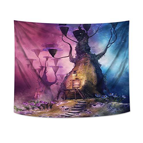 mmzki Europäische Tapisserie Fantasie Fantasie Polyester druckgewebe europäische und amerikanische Dekoration Tapisserie v 150 * 150 cm
