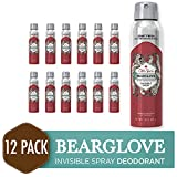 Old Spice Antiperspirant and Deodorant for Men, Invisible Spray, Bearglove, Apple, Citrus, & Spice...