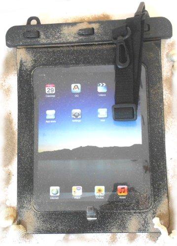 PRESKIN - Wasserfeste Tasche bis 10.1 Zoll Bildschirm, Wasserdichte Tablet Schutzhülle (Beachbag10.1