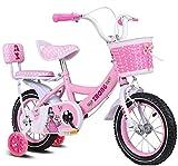 Ligera bicicleta de equilibrio para niños pequeños Cabritos de las muchachas de bicicletas Jenny conejito 12 14 16 18 20 pulgadas de bicicletas 3-12 Años de Edad cesta Ciclo ruedas de entrenamiento pa