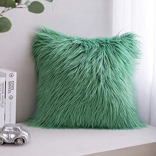 Phantoscope Mongolian Faux Fur Pillow