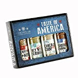 The Spice Lab Taste of America Spices and Seasonings Set - Ultimate Grilling Accessories Set - Perfect Gift Kit - All Around Cooking & Air Fryers - Great Gift for Men or Gift for Dad Made in the USA
