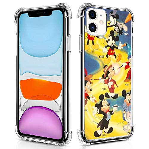 Disney Collection Disney Collection Crystal Clear Case Mickey Mouse Wallpaper For Iphone 11 6 1 From Amazon Daily Mail