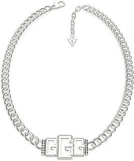 Indovina la catena della catena della donna piccola 3G UBN70009 acciaio inox 40 cm. Moschettone di rodio.