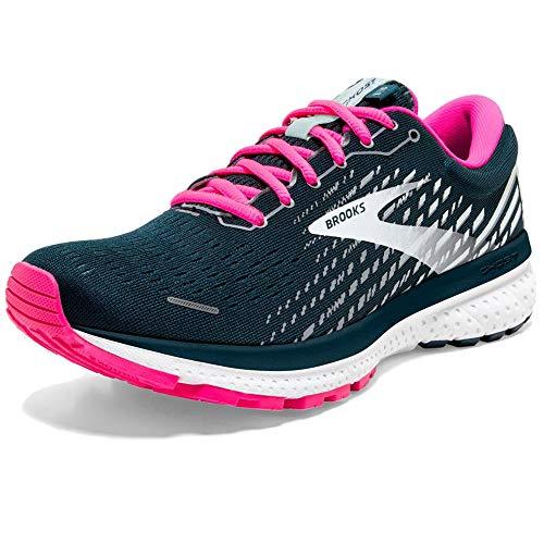 Brooks Damen Ghost 13 Laufschuh, Reflectivepond Pink Ice, 39 EU