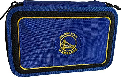 NBA Astuccio Corredo 3Zip Golden State Warriors Blu