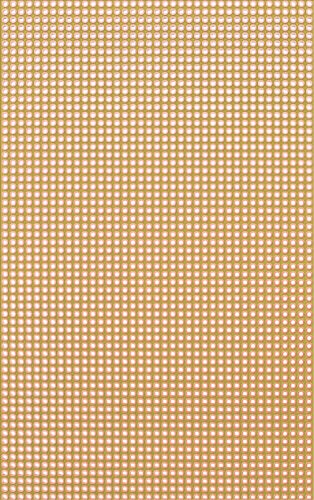 Rademacher 811-5 Lochrasterplatte (25 Stk.) Hartpapier 160 x 100 mm, Rastermaß 2,54 mm, 39 Lochreihen, Kupfer Auflage einseitig 35 µm, Platine 1,6 mm, Gelb