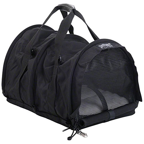 Sturdi Products SB2-BL SturdiBag Flexible Height Pet Carrier, Large - Black