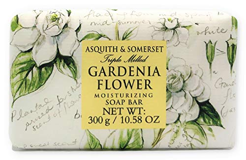 Asquith & Somerset England Gardenia Flower Luxury Soap - 10.5 oz Large Bar