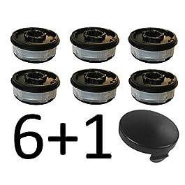 Lot de 6 bobines de rechange pour coupe-bordure électrique ALDI Gardenline GLR GLT 450 451 452 453 454 455 456 457 458…