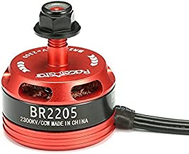 RacerStar Toolcool Racing Edition 2205 BR2205 2300KV 2-4S Brushless Motor for QAV250 ZMR250 260 280 RC FPV Multicopters Quadcopter (Counter-Clockwise Screw Thread)