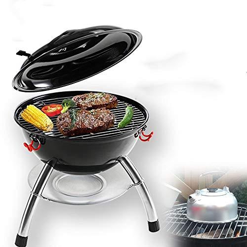 ZOUJUN Tragbare Feuerstelle for Außen Garten oder Camping Verwendung als Holz/Kohle/Festbrennstoff Herd und Heizung Outdoor BBQ Grill Barbecue Ofen Grill