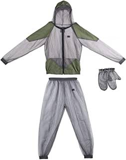 Changli Mosquito Suit, Ligero, antimosquitos Repelente de Red de Ropa,Protección contra Insectos, Aventura al Aire Libre, Camping, Pesca