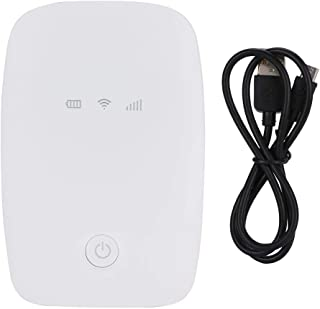 Wifi LTE 4G-box, 150 Mbps compatibel met vele WIFI-terminals, draadloze WiFi-box, laptop voor notebooktablets(white)