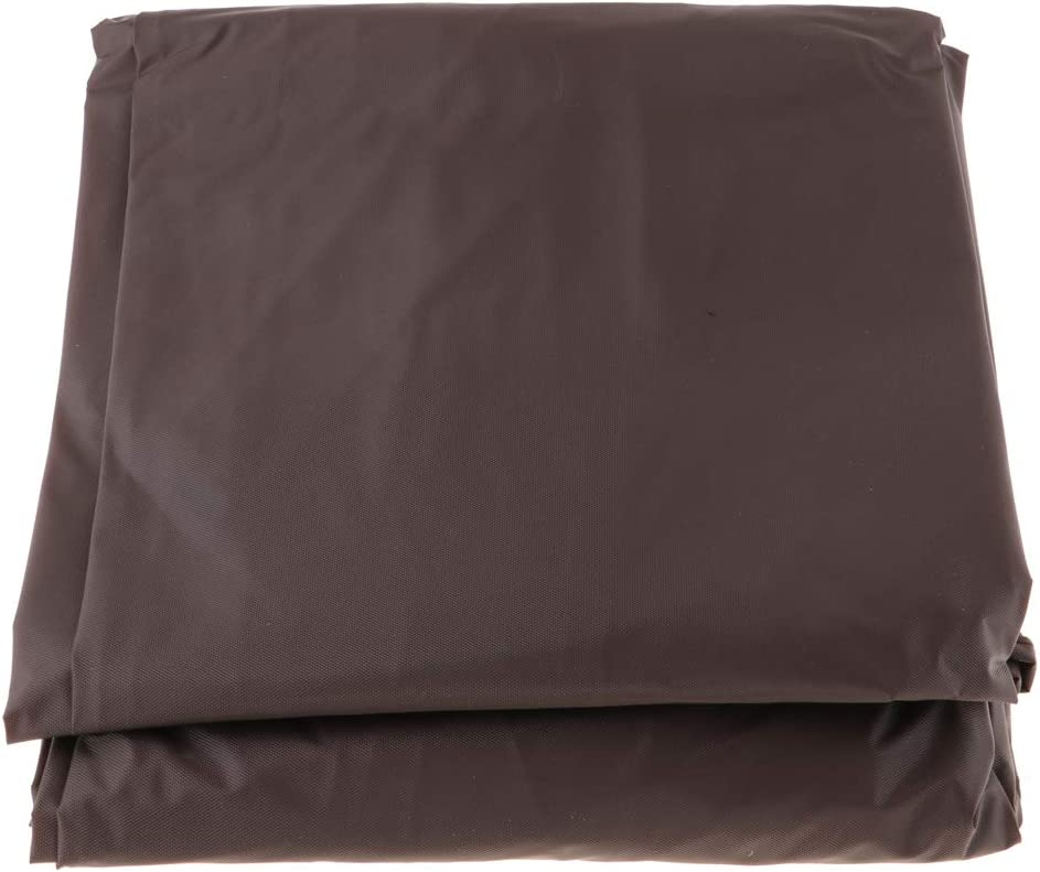 Tongina Deluxe Brown Oxford Cloth Pool Table Cover Waterproof Billiard Covers Billiards Equipment 7FT Multiple Sizes