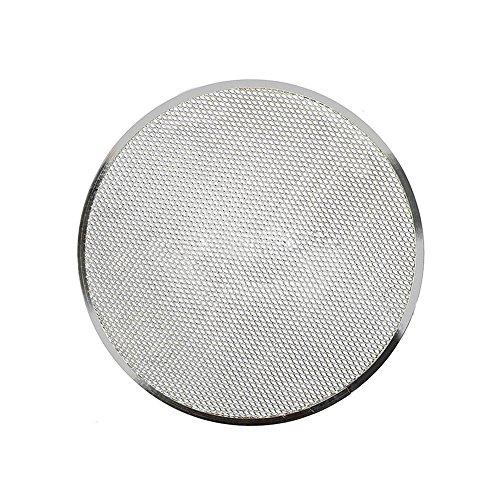 FLOX Bandeja para Pizza de aleación de Aluminio de 15,24 cm a 35,56 cm, para Hornear Pizza, de Malla de Alambre (35,56 cm), Show, 8 Pulgadas